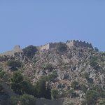 Close up of the ancient fortress
