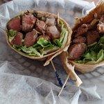 steak wrap.