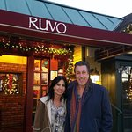 ROSARIO CASSATA AND CAROLYN AT RUVO IN PORT JEFFERSON, NY