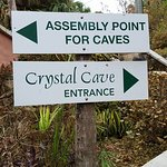 Caves signage