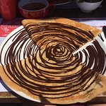 Homemade Belgian chocolate one is perfect! Simple and delicious! The galette is so good!!!! Auth