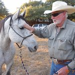 This cowboy and his horse are the featured entertainment at RANCHO CORTEZ