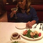 Those shrimp were great and so was my drink.
