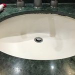 Mold & mildew in sink shows cleaning is subpar