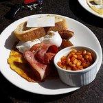 scotts big breakfast, spicy beans!~
