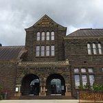 Outside main building - Hawaiian Hall at Bishop Museum