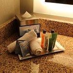 Simple amenities