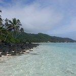Island off Muri