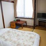 和室4.5畳 共同バストイレ  /  A Japanese Style Single Room with shared bath & toilet