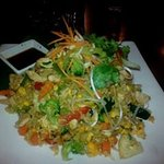 my chicken fried rice[not sure of name of meal on menu]
