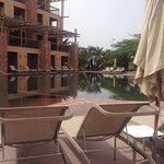 The chocolate which is quite to sit away from the busy pools
