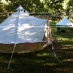 Bell tent for the Glampers...