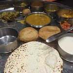 Thali served