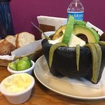 i think it was the molcajete
