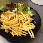 Potj'vleesch frites salade tout fait maison!
