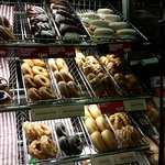 Tim Hortons: Donuts display