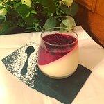 Lemon Posset with Winter Berry Jelly