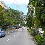 Les Champs Elysées Seychellois (déco de Noel)