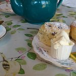 A large cream tea.