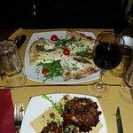 Artichauds romains et craquant mozza (très fine pate)