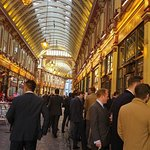 suits in Leadenhall Market