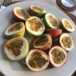 I said I loved passion fruit and these show up.
