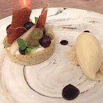 2bearbear had the Red Comice Pear Dessert