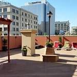 Josie's Deck is available to book. Located on the 2nd Floor, overlooking downtown.