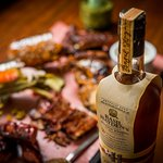 BBQ Platters pair well with bourbon! Check out our drink menu.