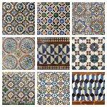 Algunos azulejos que se pueden encontrar en la Casa de Pilatos.
