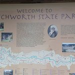 Letchworth State Park: Map of the park