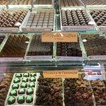 JaCiva's chocolates.