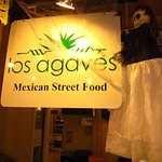 Los Agaves. Look for the cool sign.