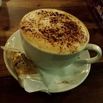 The best cappuccinos at Pennan Inn!