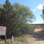 Vista del camino al Santuario de CEFERINO NAMUNCURÁ - RUTA 40 (desde Zapala a Junín de los Andes