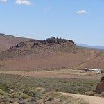 Vista del Santuario de CEFERINO NAMUNCURÁ antes de llegar (recomendación de 10 a 16.30 hs-cierra