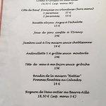 Terrine de foie gras maison, Rognon de veau entier beurre aillé,