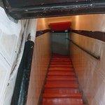 Distinct stairwell
