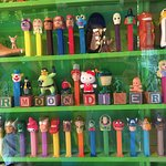 More of what must be the world's largest Pez dispenser collection