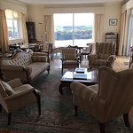 Great views from dining area and room