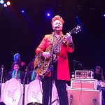 Brian Setzer in concert at the NYCB