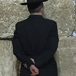 The Western Wall at night of new month