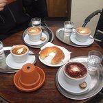 great coffee and choco