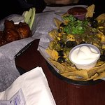 Nachos and Wings at Valhalla
