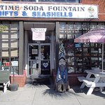 Entrance to Olde Time Soda Fountain
