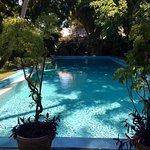 Wow, what a beautiful HUGE pool ! :)
