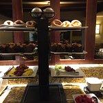 Business Class Lounge Breakfast Options
