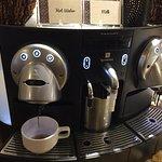 Business Class Lounge Nespresso Machine