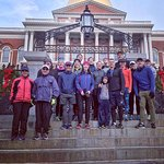 Starting from the Mass State House near Boston Common.