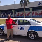 Abdallah - the best person to drive you around the area!